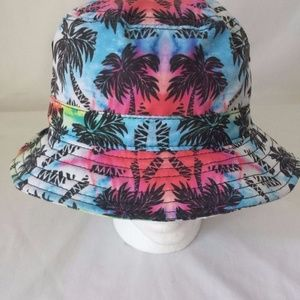 The Original Chuck bucket Hat  Tropical Palm Trees